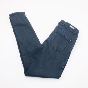 Zara Basic Black Skinny Jeans Size 6